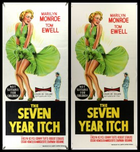 Seven Year Itch (Australian Daybill) - Before & After